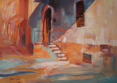 Sizilien, Acryl auf Leinwand, 70x90 cm